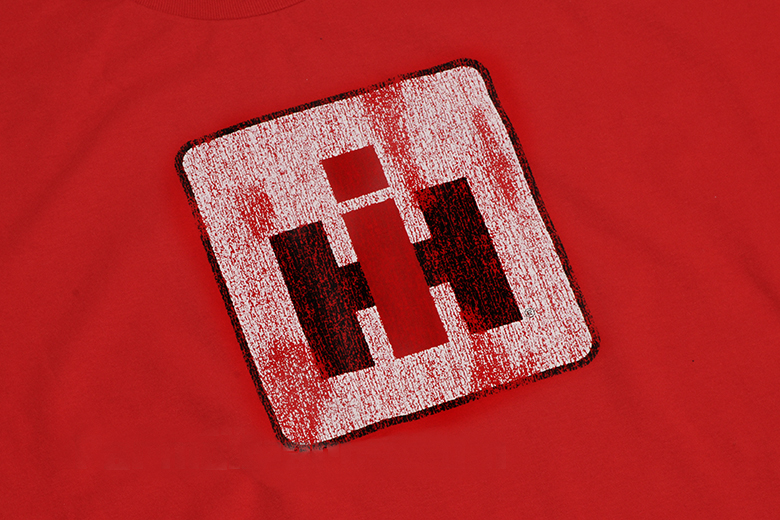 Distressed IH Logo -Long Sleeved Shirt-limited Stock Available
