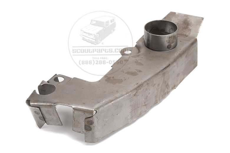 Scout II Exhaust Manifold Shroud - new old stock