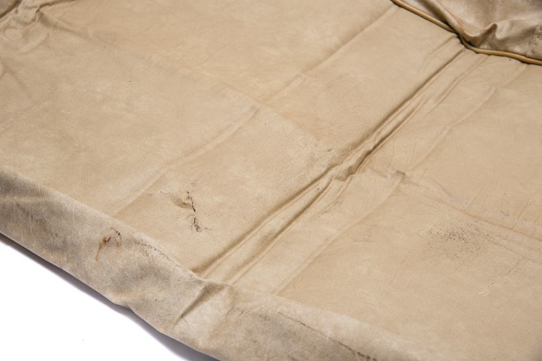 """Scout II Seat Cover bench lower Seat - """"Sage"""" tan vinyl - New Old Stock"""