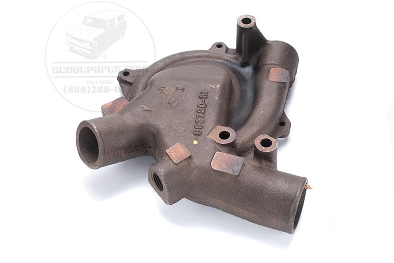 Scout II, Scout 80, Scout 800 Water Pump Housing - NEW OLD STOCK 4cyl