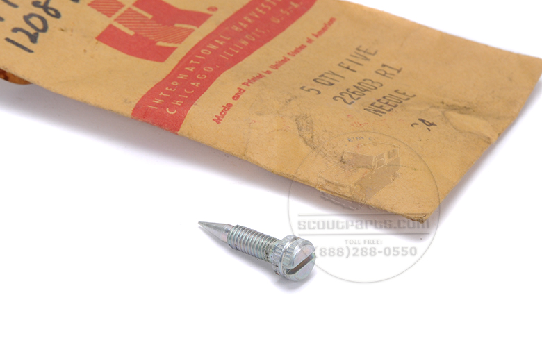 Scout II, Scout 80, Scout 800 Needle for carburetor - New old stock