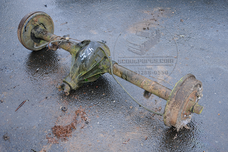 Early Scout Dana 44 Rear Axle (Complete)