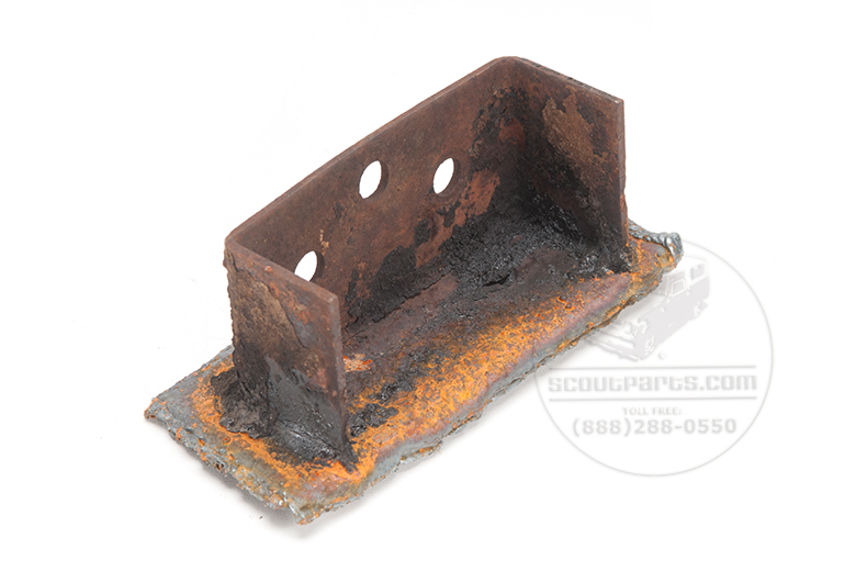 Body Mount Middle - Supports Floor Board Under Your Feet - new Reproduction with out rust.
