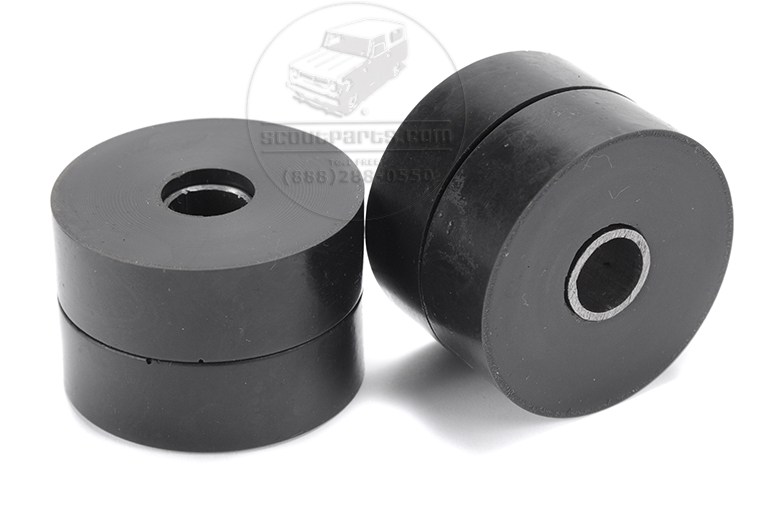 Scout II Transmission Mount Bushings Only - Rebuild Kit - V8 to 3-Speed, 727 Automatic Transmission - 4 Speed Manual