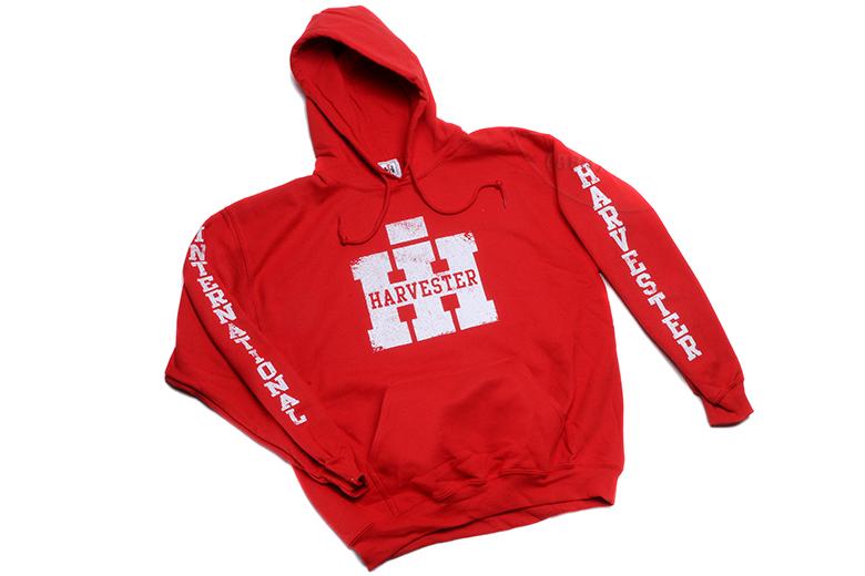 IH Pullover Hoodie (RED)