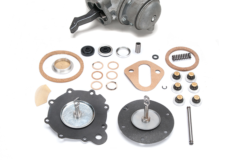 Fuel Pump Vacuum Pump Rebuild Kit - 6 Screw
