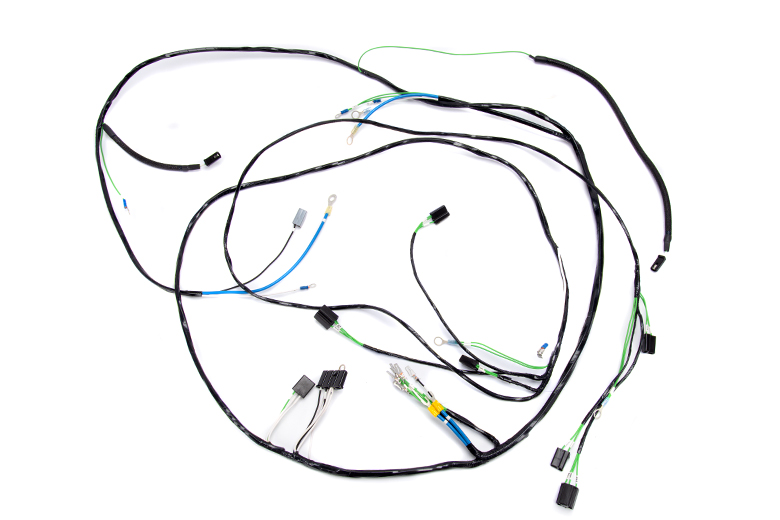 scout 800 wiring harness headlight  engine 1969 to 1971 v8 engine