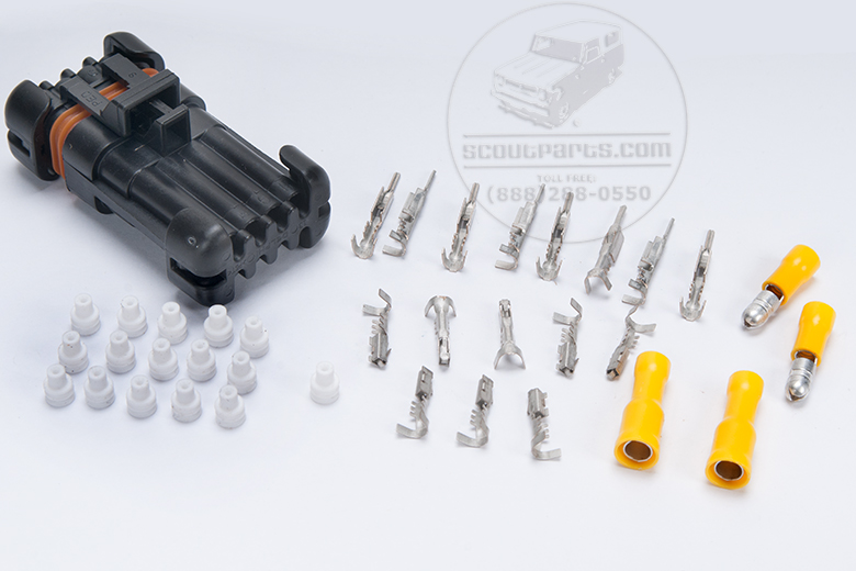 Connector Firewall Replacement Kit 10 Contact