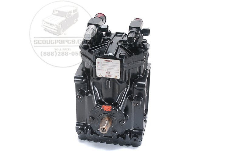 Scout II Air Conditioning Compressor - Rebuilt