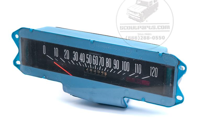 Scout II Speedo Gauge - Speedometer - Rebuilt