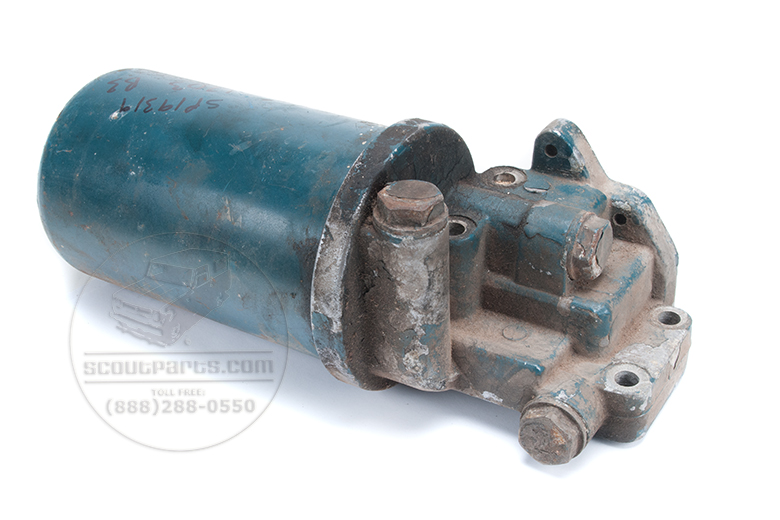 Oil filter canister assembly diesel - used in good shape