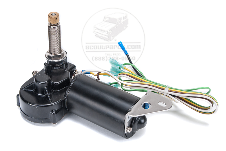 Wiper Motor Low Profile for Dash - wiring harness included