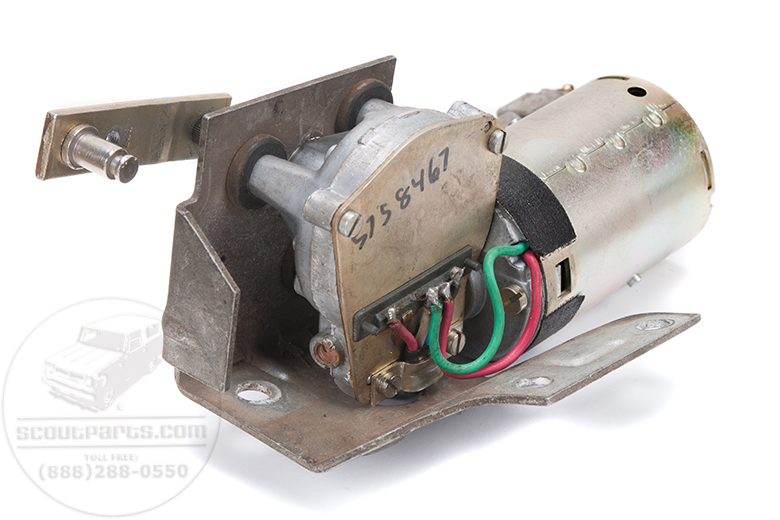 Scout II Wiper Motor For  - Brand New