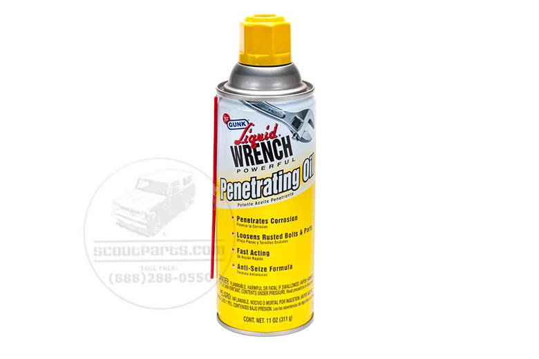 Penetrating Oil, Liquid Wrench Spray