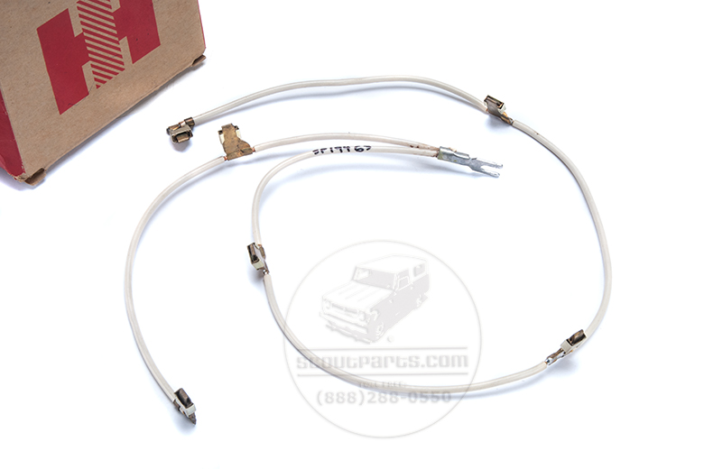 Glow Plug Harness for Diesel Scouts