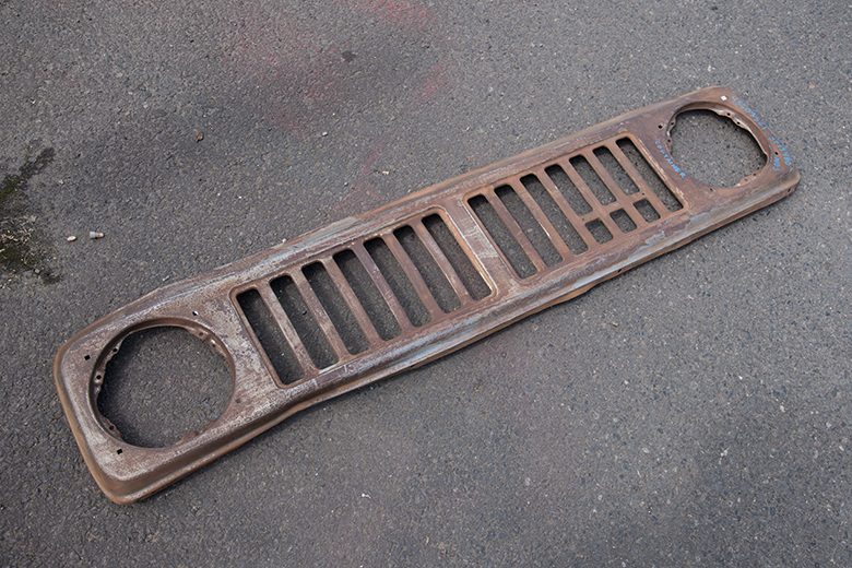 Scout II grille - new old stock