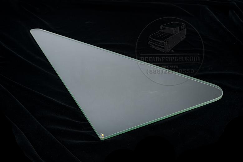 Scout II Glass Wing Window- New Old Stock