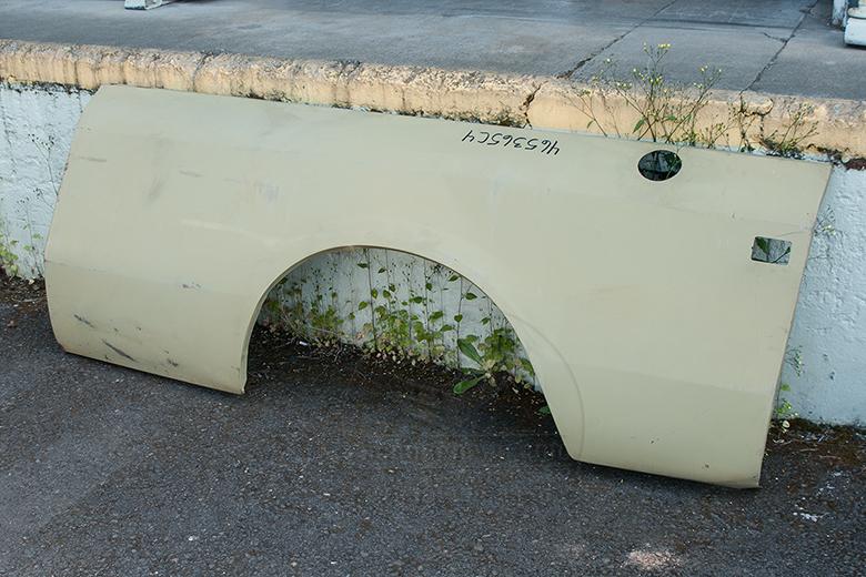"""Scout II Rear Quarter Panel For Traveler, 118"""" Wheel Base"""