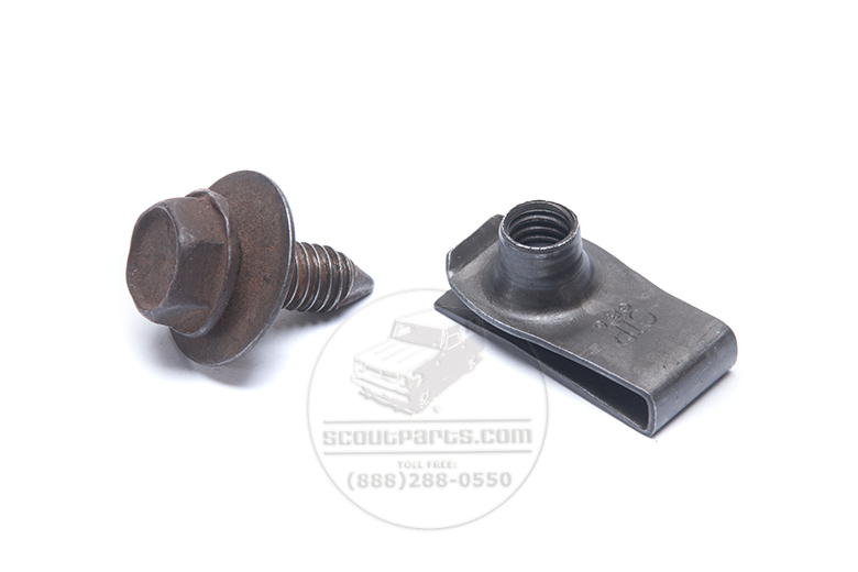 Scout II Speed Nuts For Front End Sheet Metal - New