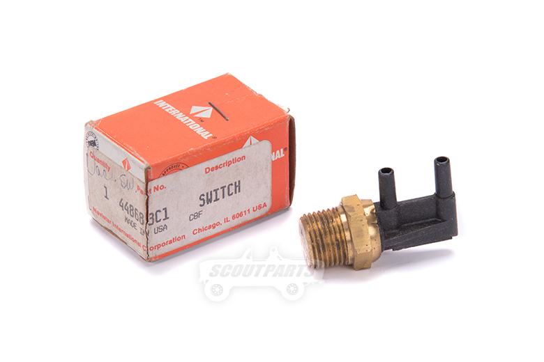 Scout II Vacuum Valve Switch - New Old Stock