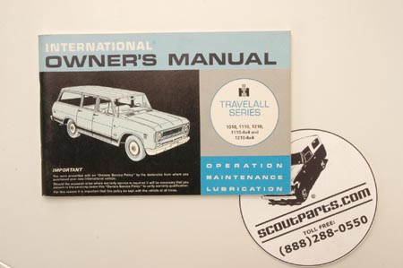 1971  Owners Manual