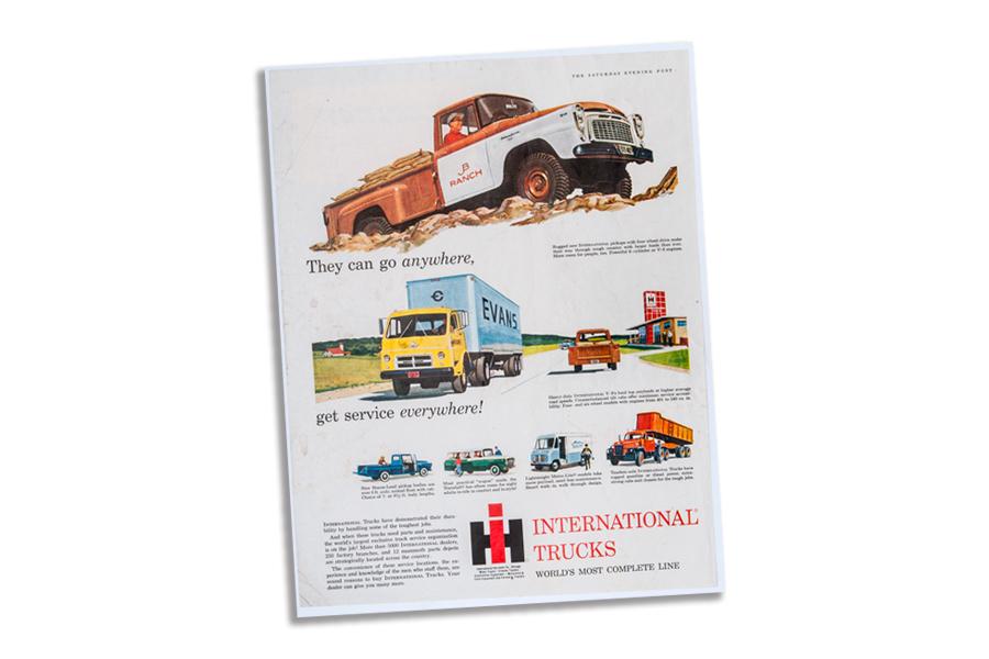 International Harvester trucks Ad 1959