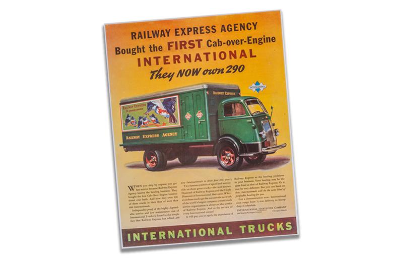 International Trucks Railway Express