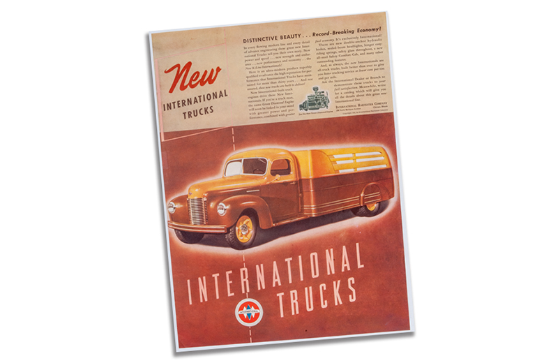 International Trucks K-line Ad 1941