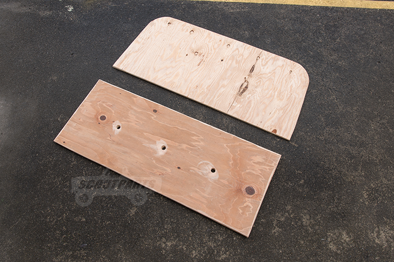 Scout 80, Scout 800 Rear Seat Boards - New