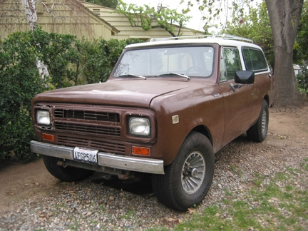 1980 International  Traveler 4X4 Diesel