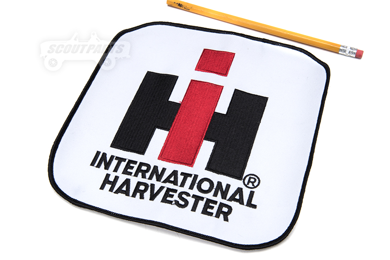 One Left call for availability **8x8in. IH logo patch