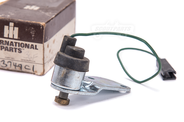 Scout II Valve Solenoid - New Old Stock