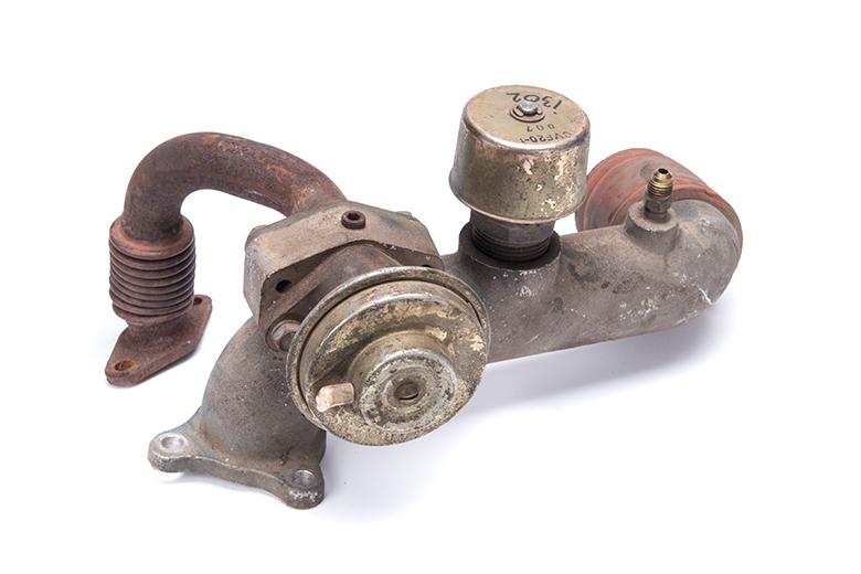 Intake tube diesel - used