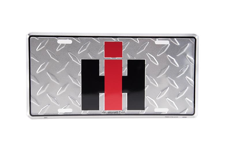IH Diamond License Plate