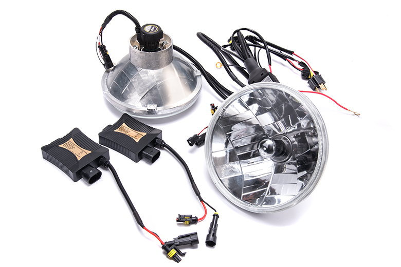 scout ii  scout 80  scout 800 hid headlight conversion kit - international scout parts