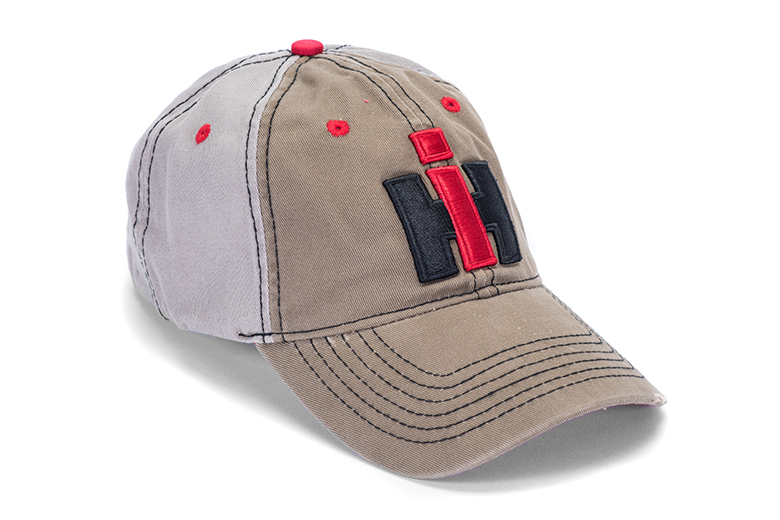 Distressed Baseball Cap, Hat with IH Logo