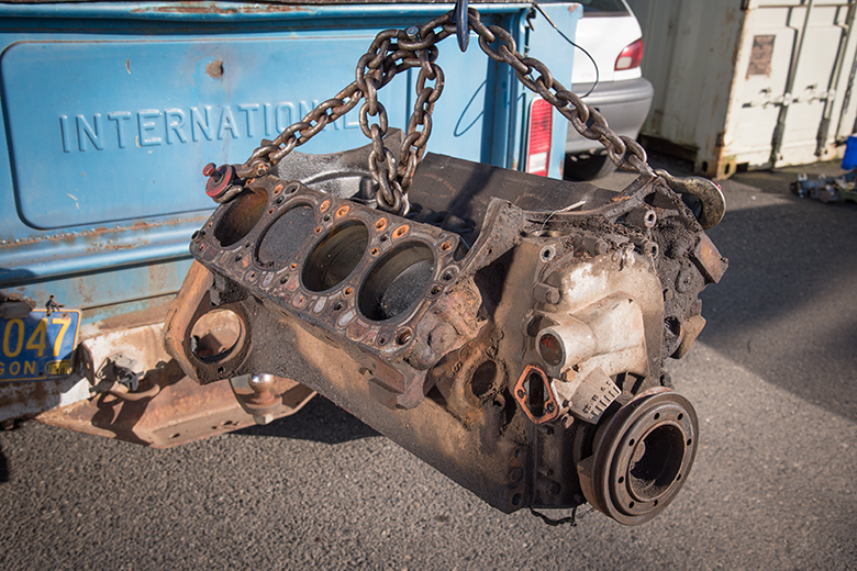 Scout II, Scout 800 Engine - Short Block Used
