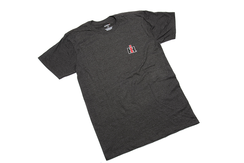 IH T-Shirt Dark Grey - Heather Short Sleeve Tee