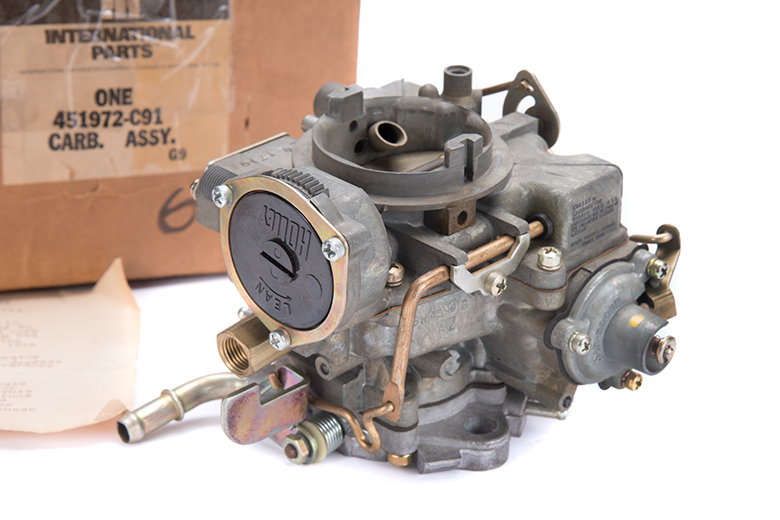 Scout II Carburetor Holley 196cid, 4 Cyl. 1940 - New Old Stock.