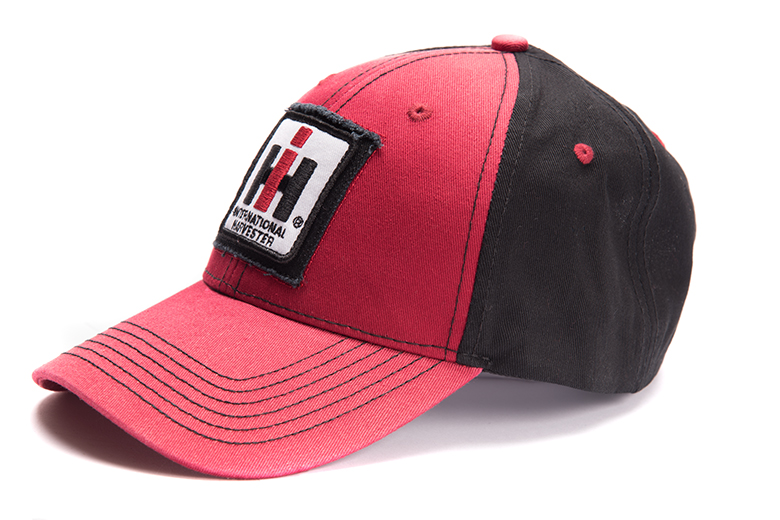 IH Logo Red And Black Patchwork Hat, Cap