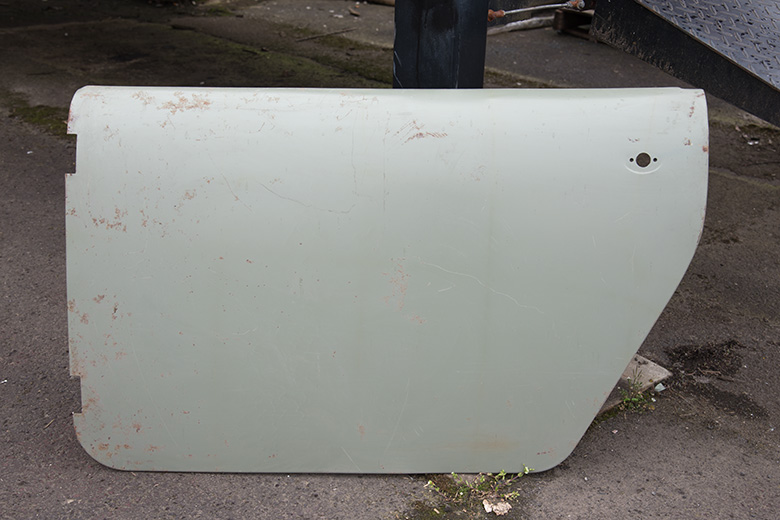 Scout 80, Scout 800 Door Skin Drivers Side - NEW OLD STOCK