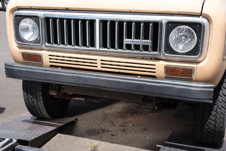 Scout II Bumper - Front or Rear - New