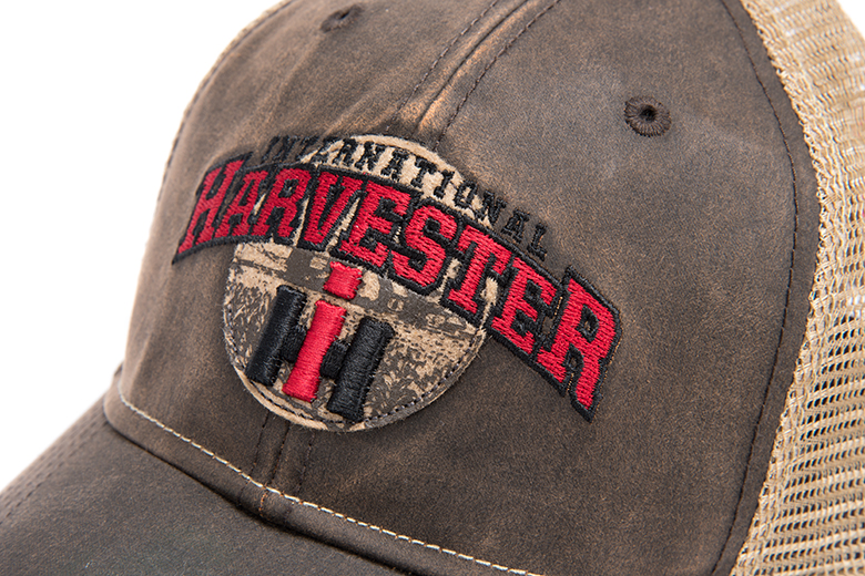 A Best Seller, IH Waxed Canvas Trucker Style Hat