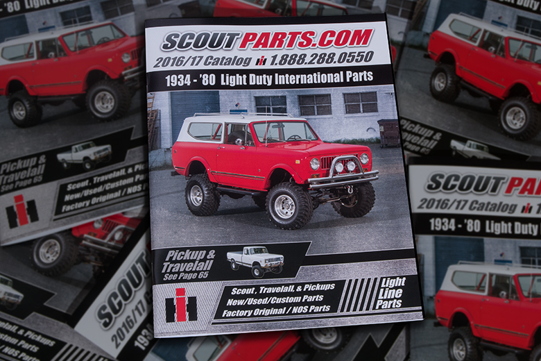 Scout II, Scout 80, Scout 800 2017 Scoutparts Catalog - 88 Page Full Color Parts Catalog Free - $3.74 for shipping.