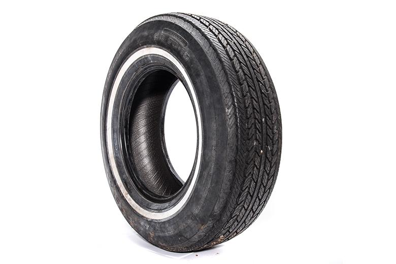 Tire Factory Original General HR78/15, Near Perfect Condition