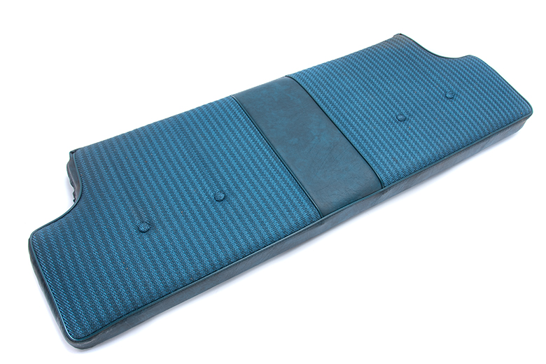 Scout II Blue Rear Back Seat - New Old Stock