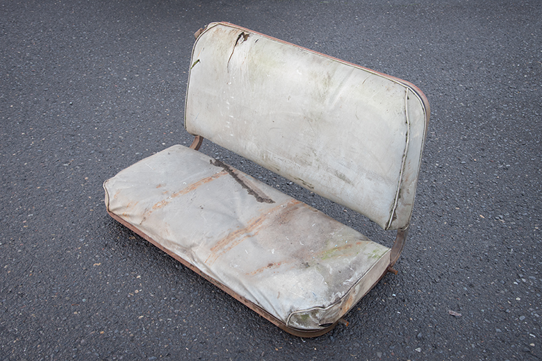 Scout 800 Rear Seat Sport Top  - Used EXTREMELY RARE