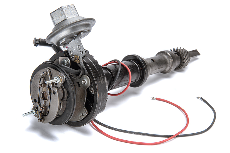 Rebuilt 4-Cylinder Distributor - Delco - Electronic Ignition