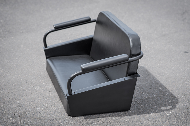 Scout 80, Scout 800 Upholstered Rear  Bench Seat