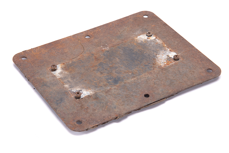 Scout 80 Plate Identification Access Panel - Used